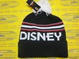 Disney PomPom Beanie Black