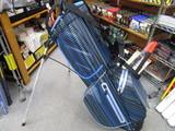 OUUL PYTHON WATERPROOF Stand Bag-BLACK/BLUE/LIGHT BLUE