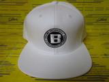 Flat Visor Cap BRG183811 White