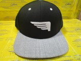 Co-Pilot Flatbill-Black/Heather Grey