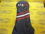 LEATHER/USA Navy 1w