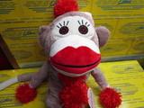 Monkey Made of Sockeis DR