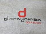 Dustin Johnson Golf School-Gray/Red Logo small