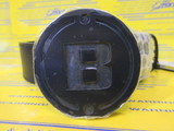 B Series Leather Belt Black BG173252