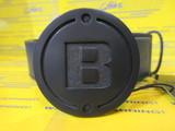 B Series Leather Belt Navy BG173252