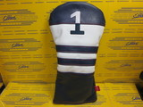 2021 Vintage Driver Headcover-NV/WH/RD